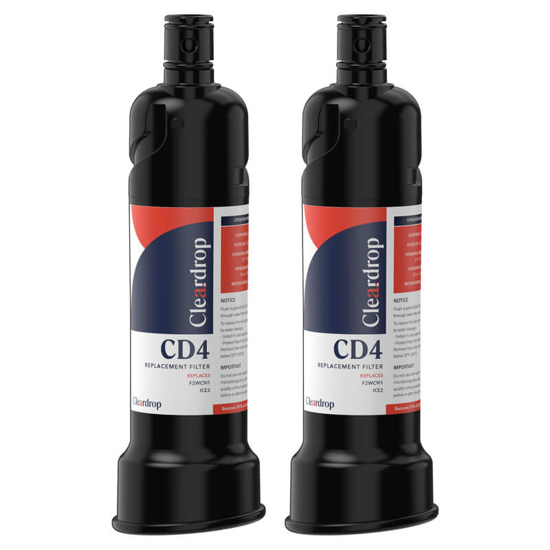 2pk F2WC9I1, ICE2 Ice Maker Water Filter by Cleardrop